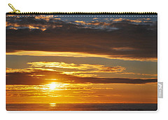 Carry-all Pouch featuring the photograph California Central Coast Sunset by Kyle Hanson