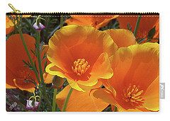 California Poppies Carry-all Pouch by Ben and Raisa Gertsberg