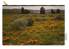 California Poppies In The Antelope Valley Carry-all Pouch