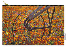 California Poppy Field Carry-all Pouch