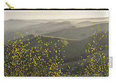 Carry-all Pouch featuring the photograph California Wildflowers by Steven Sparks