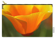 Californian Poppy Carry-all Pouch by Joy Watson