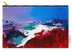 Call Of The Canyon Carry-all Pouch by Elise Palmigiani