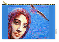 Call Of The Deep Carry-all Pouch by Jane Small
