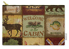 Call Of The Wilderness Carry-all Pouch by Jean Plout