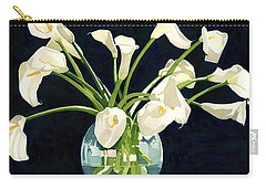 Calla Lilies In Vase Carry-all Pouch