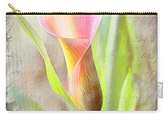 Calla Lily In Pink Carry-all Pouch