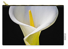 Carry-all Pouch featuring the photograph Calla Lily by Kate Brown