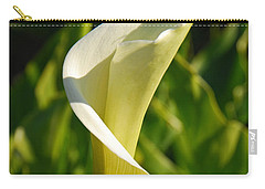 Carry-all Pouch featuring the photograph Calla Lily by Mary Carol Story