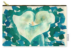 Calla Lily Watercolor Carry-all Pouch