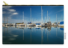Calm Masts Carry-all Pouch by James Eddy