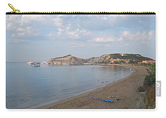 Carry-all Pouch featuring the photograph Calm Sea by George Katechis