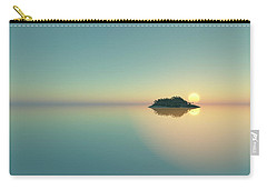 Calm Seas Sunset... Carry-all Pouch by Tim Fillingim