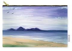 Calm Seashore Carry-all Pouch