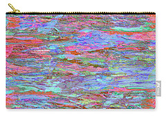 Carry-all Pouch featuring the digital art Calmer Waters by Stephanie Grant