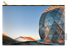 Carry-all Pouch featuring the photograph Caltech Submillimeter Observatory by Jim Thompson