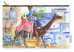 Camel Driver Carry-all Pouch