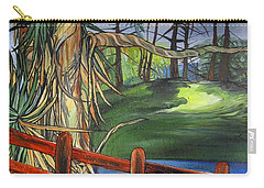 Camino Real Park Carry-all Pouch by Mary Ellen Frazee
