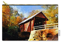 Campbell's Covered Bridge Carry-all Pouch