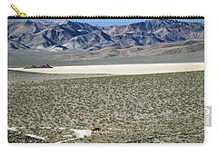 Camped At The End Of The Road Carry-all Pouch by Joe Schofield