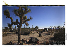 Camping In The Desert Carry-all Pouch