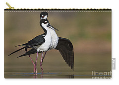 Carry-all Pouch featuring the photograph Can I Have This Dance by Bryan Keil