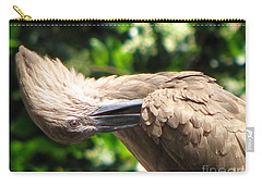 Carry-all Pouch featuring the photograph Can You Do This by Greg Patzer