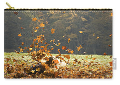 Carry-all Pouch featuring the photograph Can You See Me? by Carol Lynn Coronios