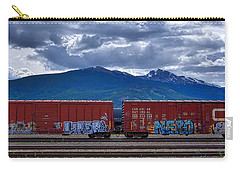 Canadian Freight Train In Jasper Carry-all Pouch