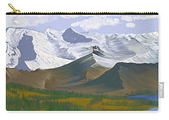 Canadian Rockies Carry-all Pouch by Terry Frederick