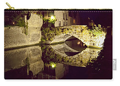 Canal Bridge Reflection Carry-all Pouch