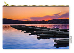 Candlewood Lake Carry-all Pouch by Bill Wakeley