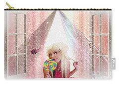 Carry-all Pouch featuring the digital art Candy Kisses by Liane Wright