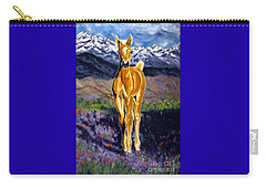 Candy Rocky Mountain Palomino Colt Carry-all Pouch by Jackie Carpenter