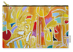Carry-all Pouch featuring the painting Candy Shop Garnish by Jason Williamson