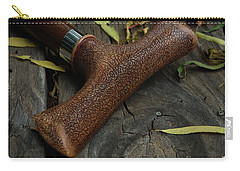 Carry-all Pouch featuring the photograph Cane And I by Peter Piatt