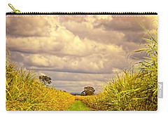 Carry-all Pouch featuring the photograph Cane Fields by Wallaroo Images