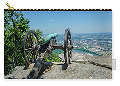 Carry-all Pouch featuring the photograph Cannon At Point Park by Susan  McMenamin