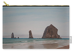 Cannon Beach Haystack Rock Carry-all Pouch