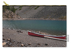 Canoe At Moraine Lake Carry-all Pouch