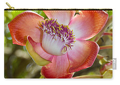 Cannonball Tree Flower Hawaii Carry-all Pouch by Venetia Featherstone-Witty