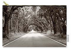 Canopy Of Trees Carry-all Pouch