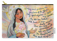 Canticle Of Mary Carry-all Pouch