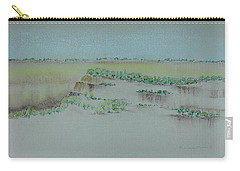 Carry-all Pouch featuring the pastel Canyon View by Michele Myers
