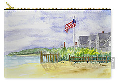 Massachusetts -cape Cod Cottages Carry-all Pouch