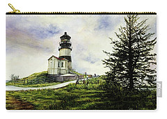 Cape Disappointment Lighthouse On The Washington Coast Carry-all Pouch