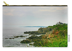 Cape Elizabeth Maine Carry-all Pouch by Denyse Duhaime