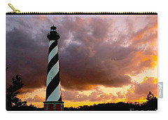 Cape Hatteras Sunset Carry-all Pouch by Nick Zelinsky