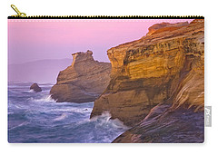 Cape Kiwanda At Sunset Carry-all Pouch by Patricia Davidson