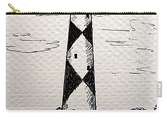 Cape Lookout Lighthouse Nc Carry-all Pouch